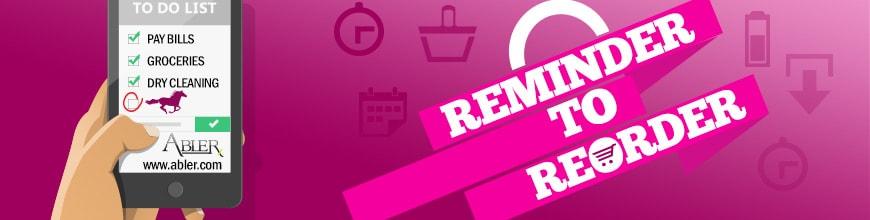 ReOrder Reminder